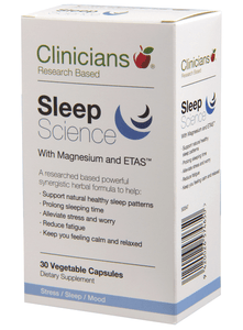 Clinicians Sleep Science 30 caps - Corner Pharmacy