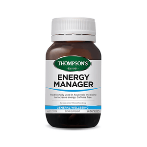 Energy Manager General Wellbeing 60 Capsules - Corner Pharmacy
