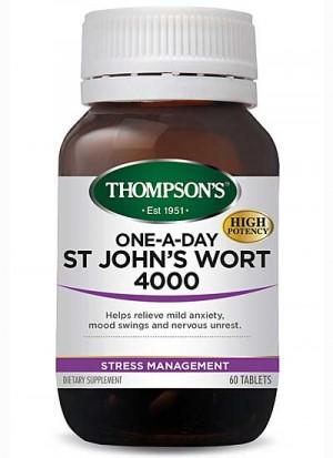 One-A-Day St John's Wort 4000 Stress Management 60 Tablets - Corner Pharmacy