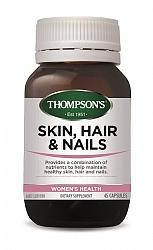 Thompson's Skin, Hair & Nails Capsules 45s - Corner Pharmacy