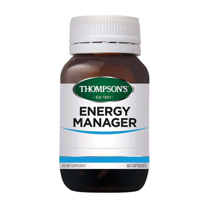 Thompsons Energy Manager Capsules 60s - Corner Pharmacy