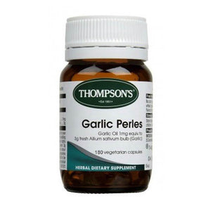 Thompsons Garlic Perles Capsules 80s - Corner Pharmacy