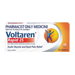 Volatren Rapid 25mg 30s
