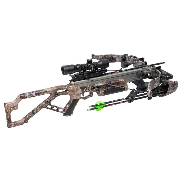 2021 Excalibur Micro Mag 340 Crossbow Package, RealTree Excape w/Dead Zone Scope