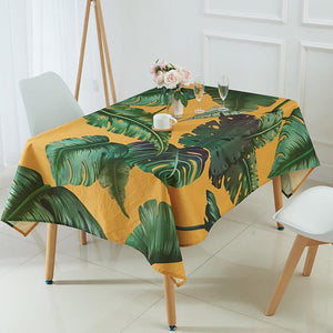 Mantel de Lino - Estilo Tropical