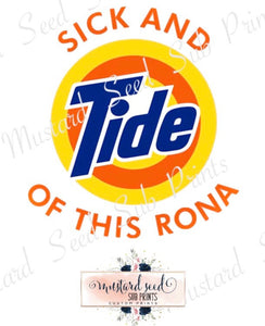 Tide Of This Rona