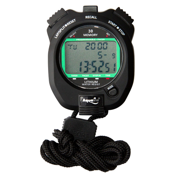 Aqualine Digital Stopwatch - 30 memory