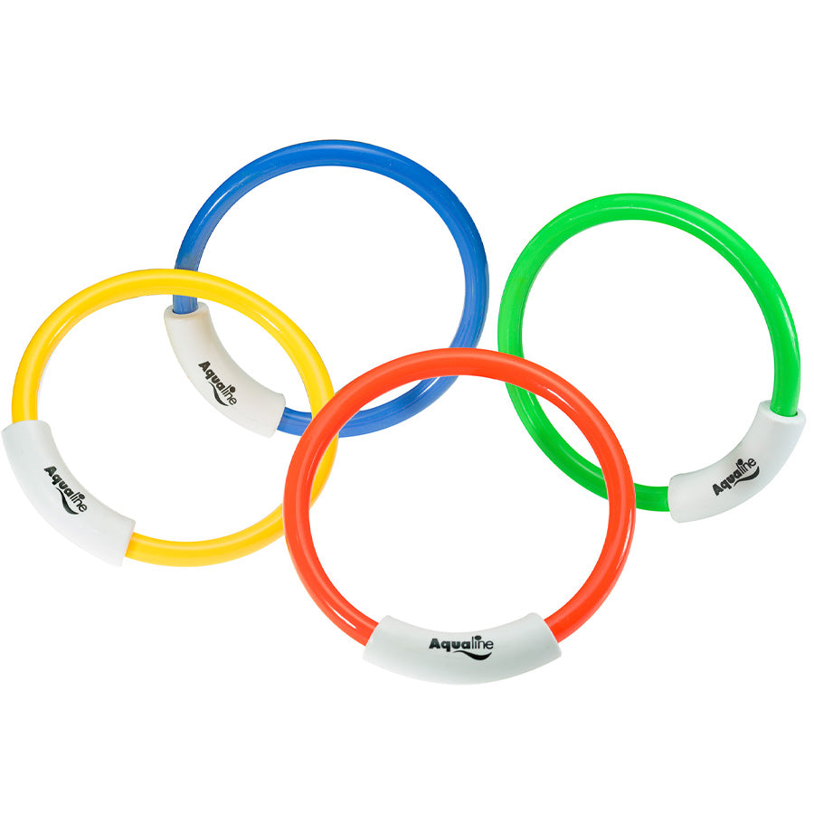 Aqualine Dive Rings (4 per set)