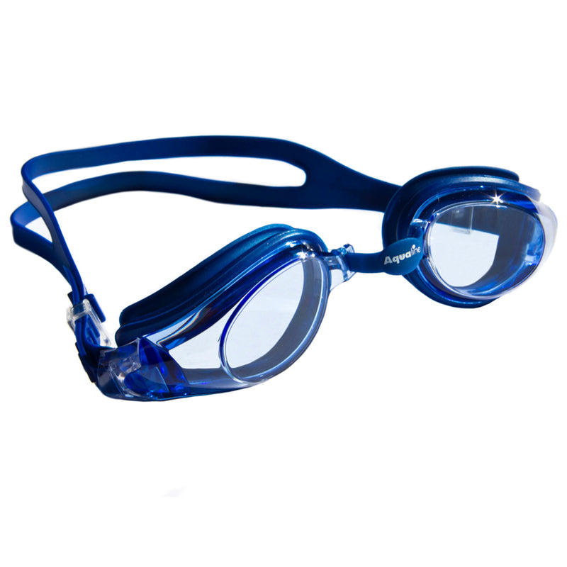 Aqualine Extreme Swimming Goggle Blue with Clear Lens
