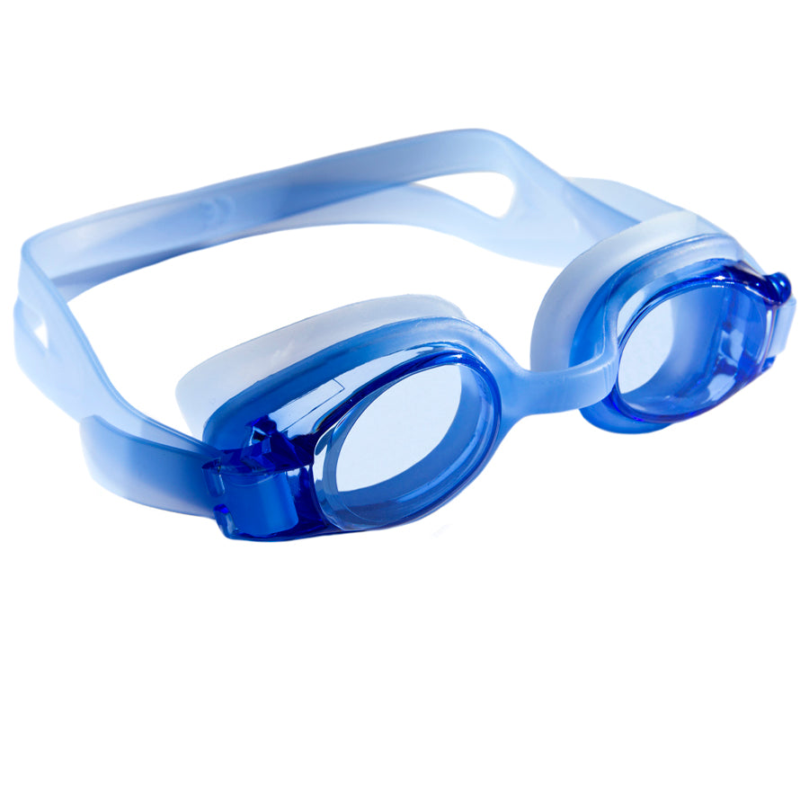 Aqualine Junior Childrens Swimming Goggles Blue