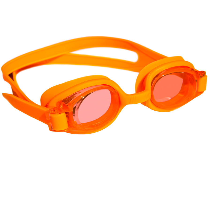 Aqualine Junior Childrens Swimming Goggles Orange