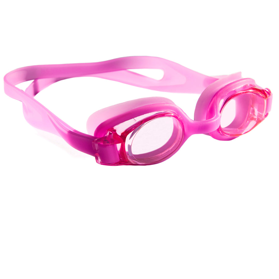 Aqualine Junior Childrens Swimming Goggles Pink