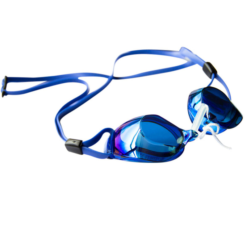 Aqualine Legacy Mirror Swedish goggles blue with gold mirror lens