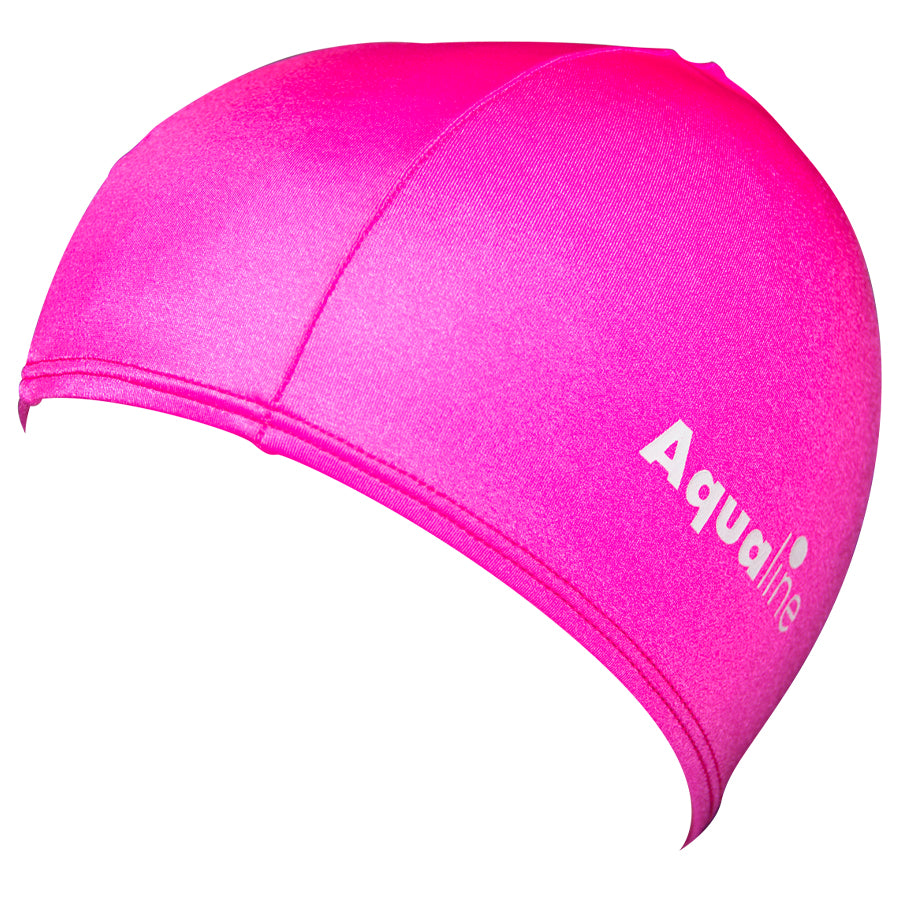 Aqualine Lycra Swimming Cap Pink