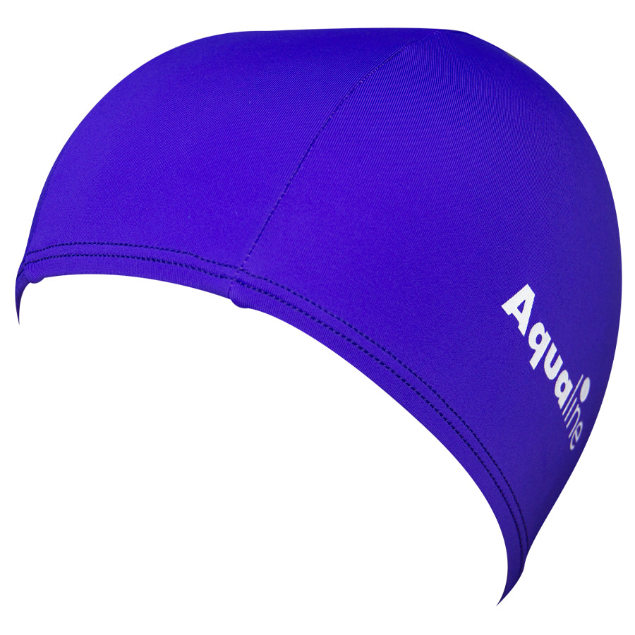 Aqualine Lycra Swimming Cap Purple