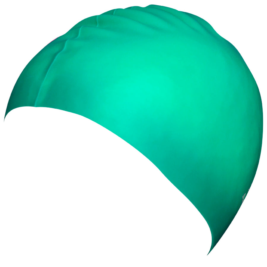 Aqualine Silicone Swimming Cap Mint Green
