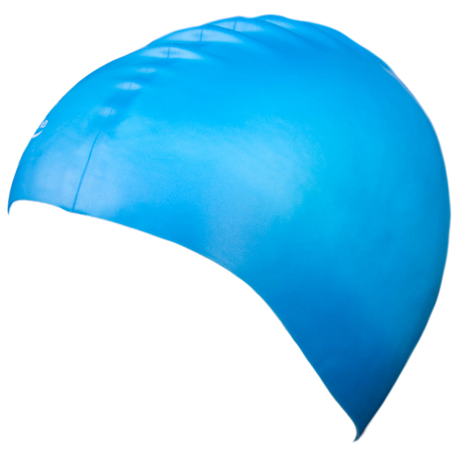 Aqualine Silicone Swimming Cap Sky Blue