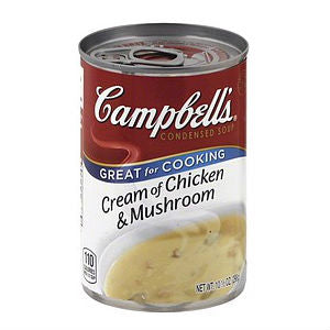 Campbells Cream of Mushroom 10.5z
