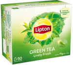 Lipton Green Tea box of 50s