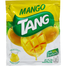 Tang Powdered Juice Mango 25g