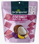 Oh So Healthy! Purple Yam, Banana, Coconut Fruit Crisps 40g