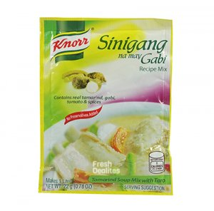 Knorr Mix Sinigang with Gabi 22g (6s)