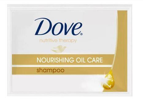Dove Shampoo Nourishing Oil Gold 10ml (6s)