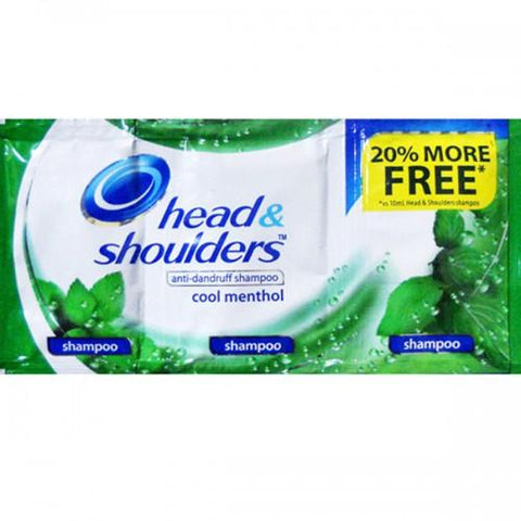 Head & Shoulders Cool Menthol (6s)