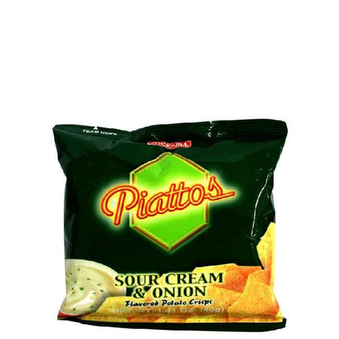 Piattos Sour Cream & Onion 40g