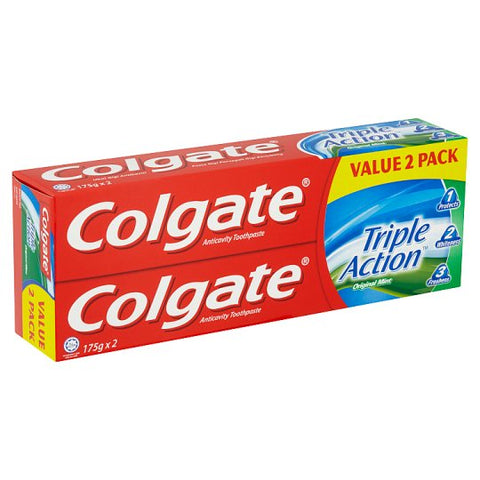 Colgate Triple Action 175gx2