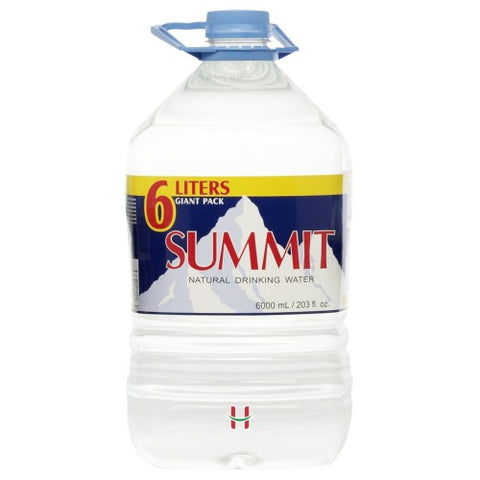 Summit drinking water 6L