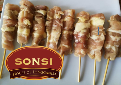 Sonsi Yakitori Chicken (unseasoned; 50 sticks per pack)
