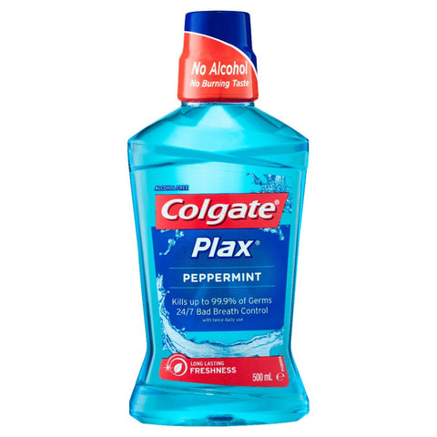 Colgate Plax Mouthwash Blue 500ml