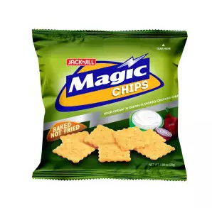 Magic Chips Sour Cream & Onions 28g