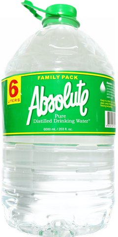 Absolute Distilled Water 6L
