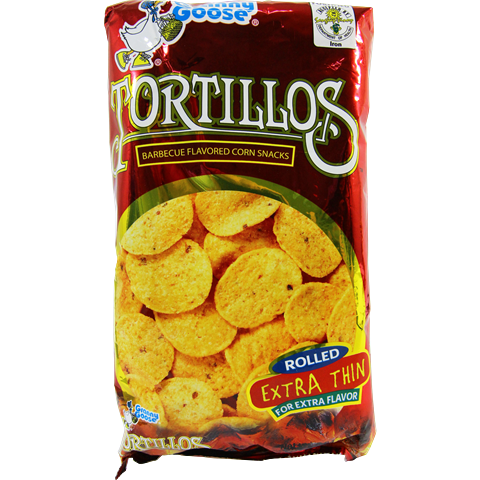 Granny Goose Tortillos Barbeque Chips 160g