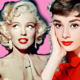 The looks of the 1950s were defined by their icons: namely Audrey Hepburn and Marilyn Monroe.