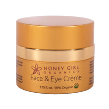 Load image into Gallery viewer, Shop Face & Eye Cream Moisturizer by Honey Girl Organics - Let's make it a trend #explorebeautiful skincare and skin moisturizers
