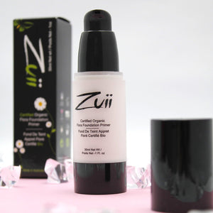 Shop Certified Organic Foundation Face Primer by Zuii Organic - Let's make it a trend #explorebeautiful face primers