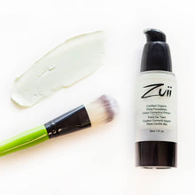 Load image into Gallery viewer, Shop Certified Organic Flora Colour Corrective Face Primer in Mint by Zuii Organic - Let's make it a trend #explorebeautiful primers and color correctors