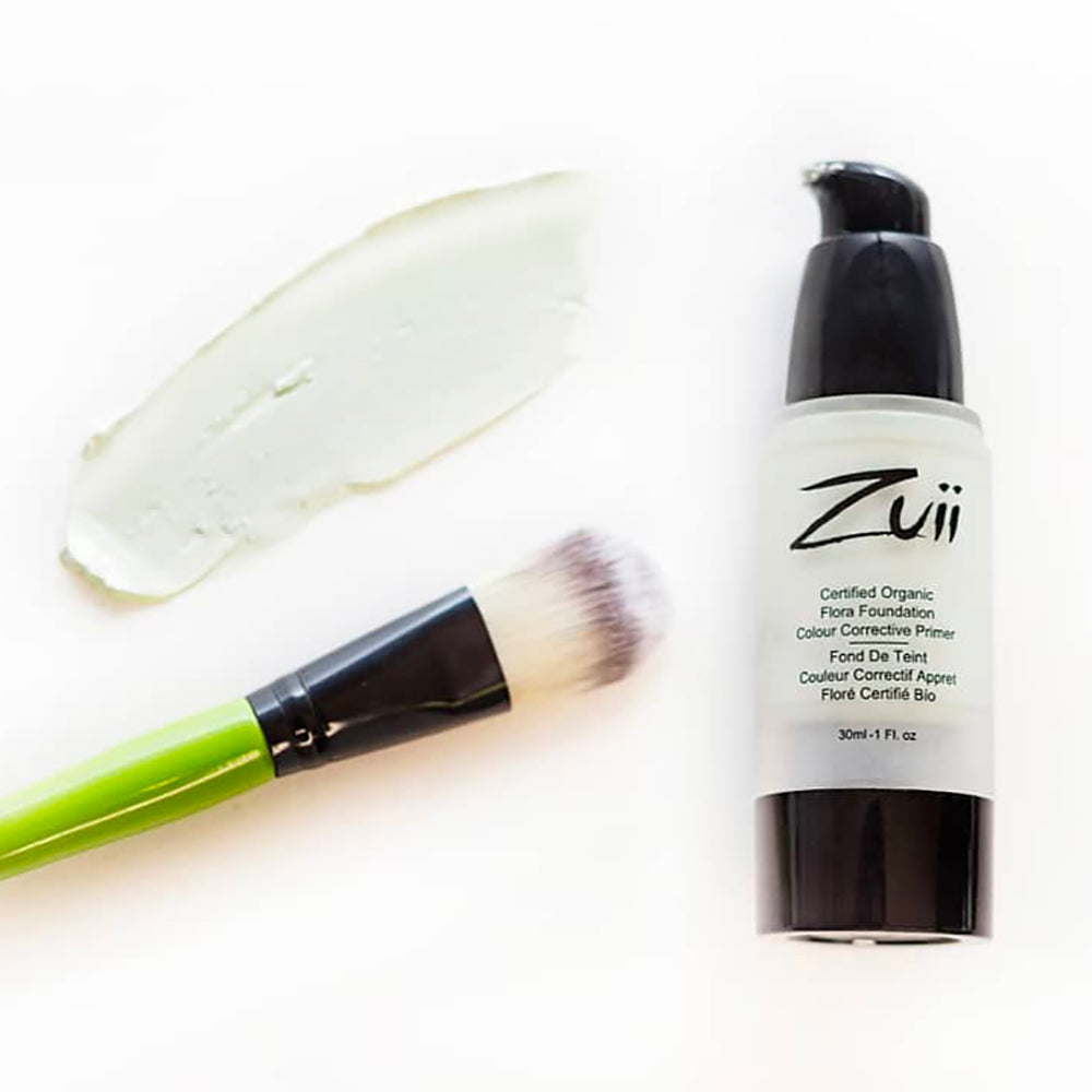 Shop Certified Organic Flora Colour Corrective Face Primer in Mint by Zuii Organic - Let's make it a trend #explorebeautiful primers and color correctors