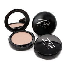 Load image into Gallery viewer, Shop Certified Organic Flora Powder Face Highlighter by Zuii Organic - Let's make it a trend #explorebeautiful face highlighers