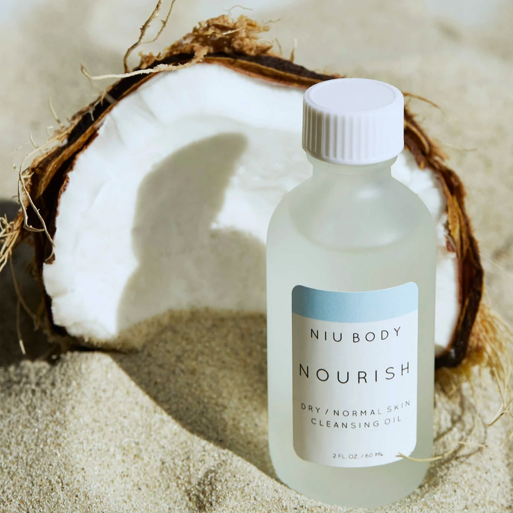 Shop Nourish Cleansing Skincare Oil by Niu Body - Let's make it a trend #explorebeautiful skincare cleansers