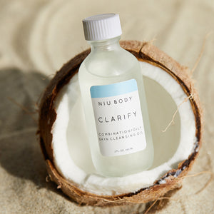 Shop Clarify Cleansing Skincare Oil by Niu Body - Let's make it a trend #explorebeautiful skincare cleansers