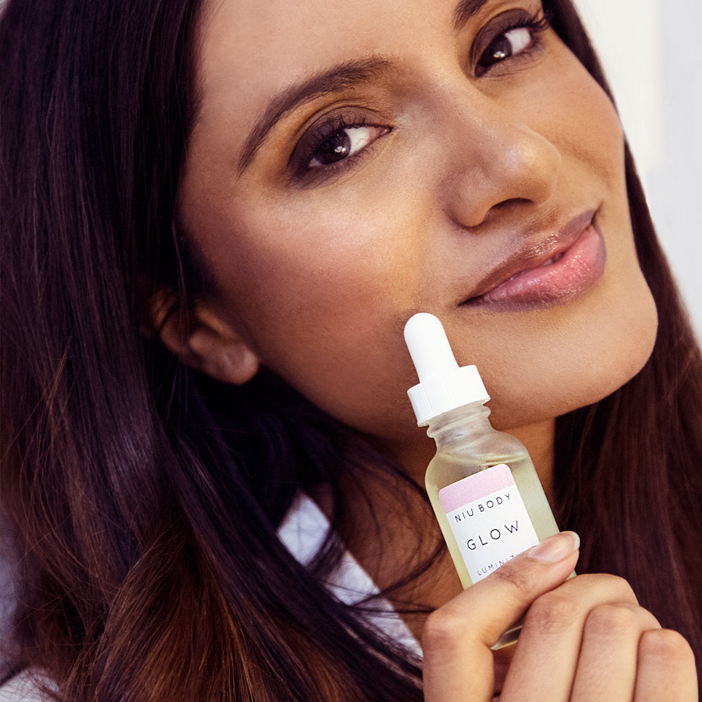Shop Glow Luminizing Facial Skincare Serum by Niu Body - Let's make it a trend #explorebeautiful skincare serums