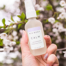 Load image into Gallery viewer, Shop Calm Lavender Toning Skincare Mist by Niu Body - Let's make it a trend #explorebeautiful skincare toners