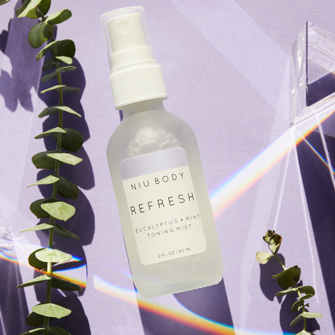 Shop Refresh Eucalyptus Toning Skincare Mist by Niu Body - Let's make it a trend #explorebeautiful skincare toners