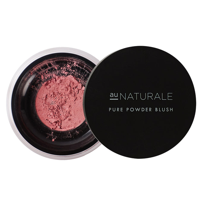 Shop Pure Powder Blush in Pomegranate by Au Naturale Cosmetics - Lets make it a trend #explorebeautiful face and makeup blushes