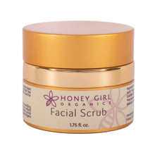 Load image into Gallery viewer, Shop Facial Scrub by Honey Girl Organics - Let's make it a trend #explorebeautiful skincare and skin scrums