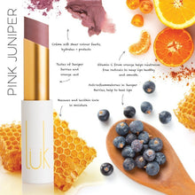 Load image into Gallery viewer, Shop Lip Nourish Pink Juniper Lipstick by luk beautifood - Let's make it a trend #explorebeautiful lipstick